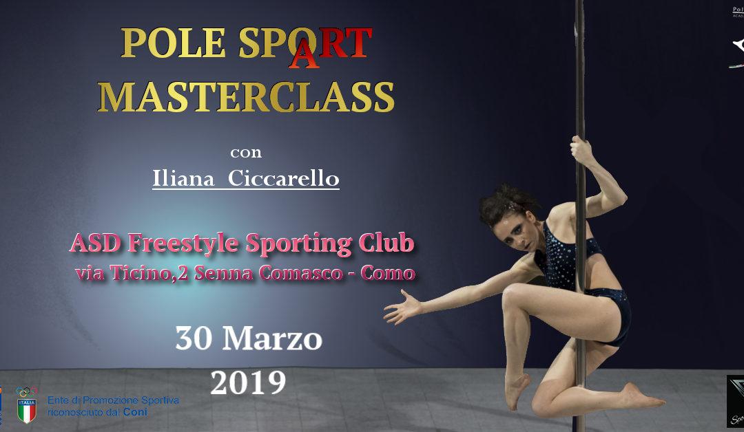 Pole SpoArt Masterclass COMO