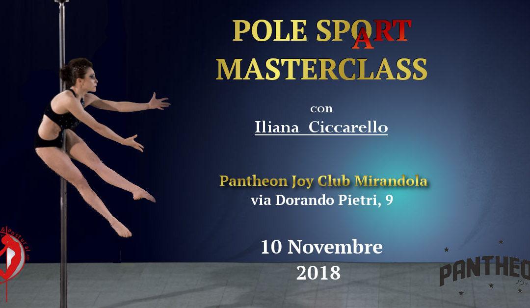 Pole SpoArt Masterclass MIRANDOLA