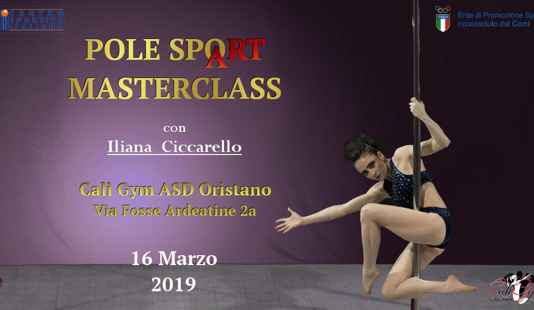 Pole SpoArt Masterclass ORISTANO
