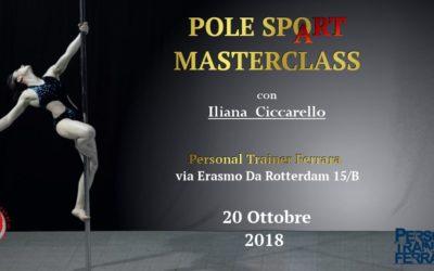 Pole SpoArt Masterclass FERRARA